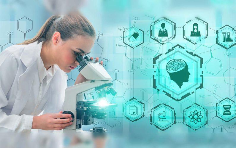 Santé et scientifique avec de multiles paramètres à observer