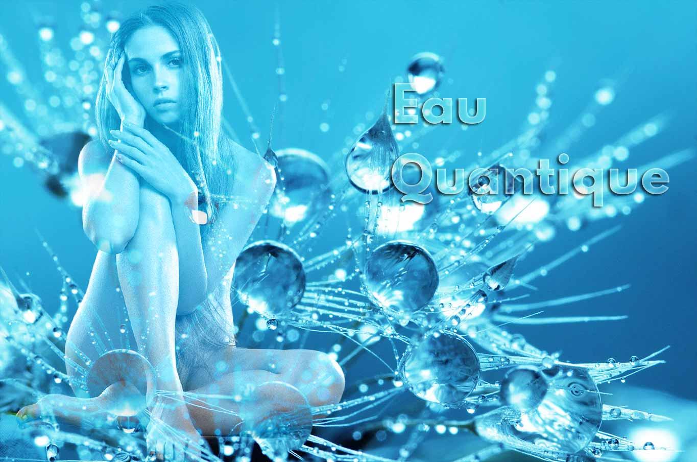 corps humain et eau cristalline